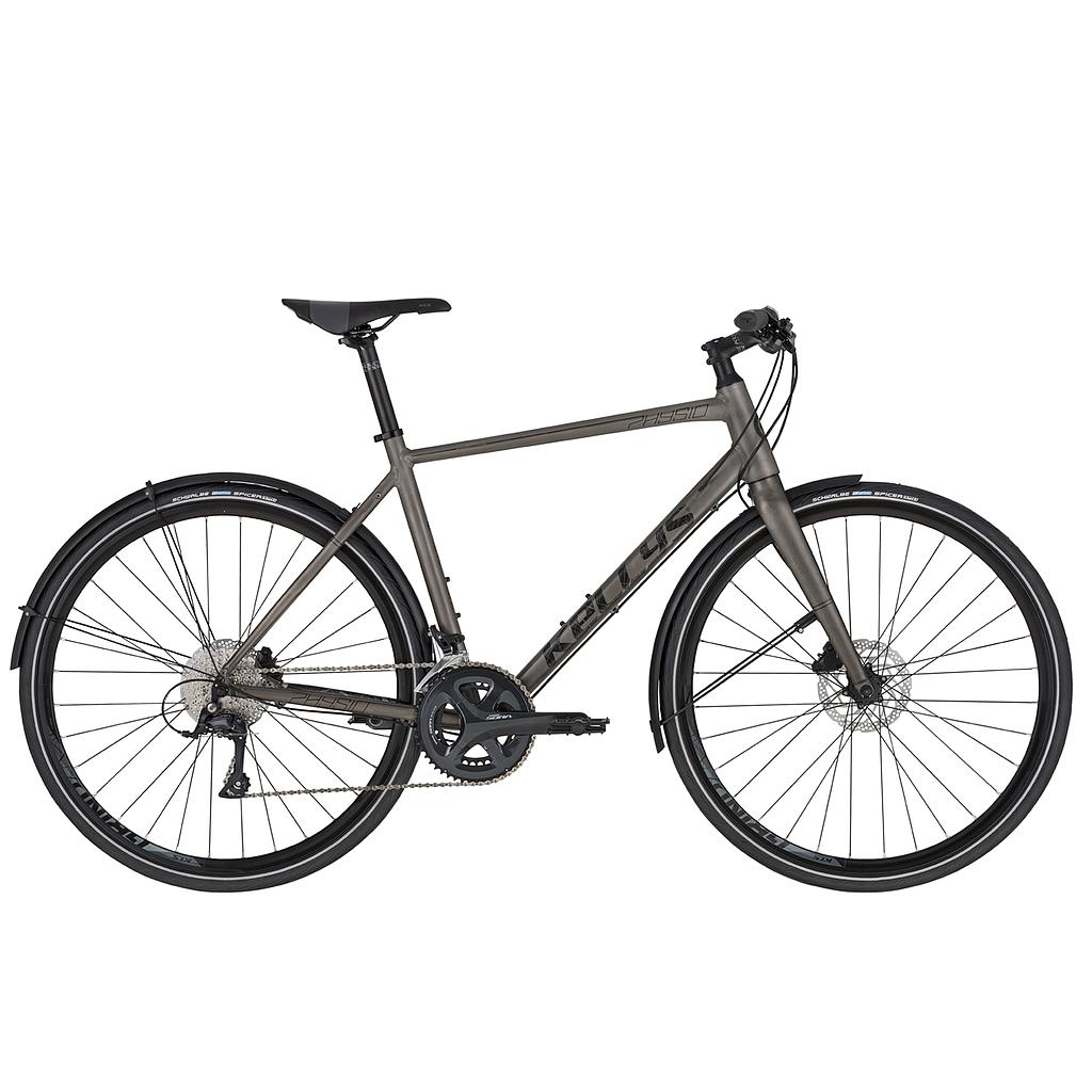 **KELLYS PHYSIO 50 MEDIUM URBAN FITNESS BIKE GREY (520MM) 2020