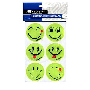 **FORCE SET REFLECTIVE STICKERS FLUO