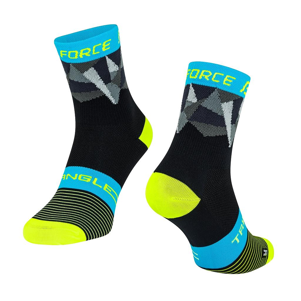 **FORCE TRIANGLE SOCKS MULTICOLOUR S/M