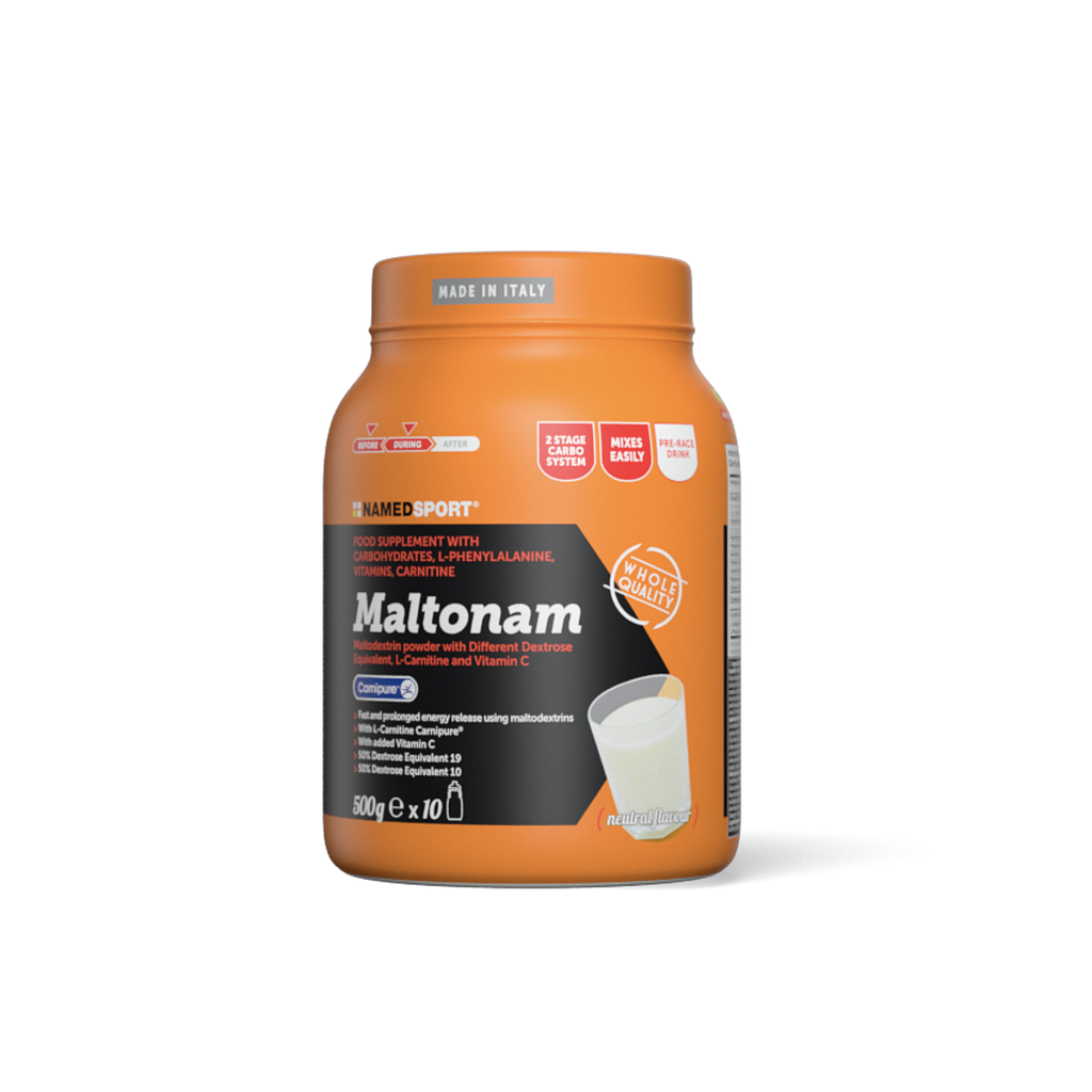 **NAMEDSPORT MALTONAM FOOD SUPPLEMENT 500G