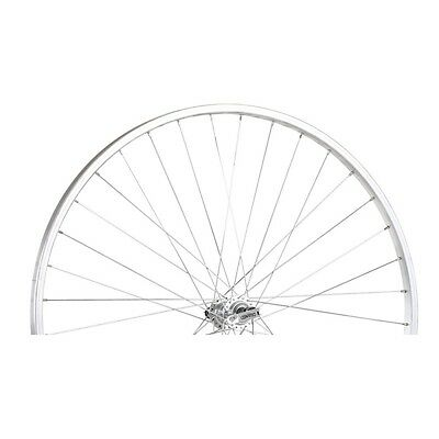 ALLOY FRONT WHEEL NARROW SECTION QR SILVER 700C