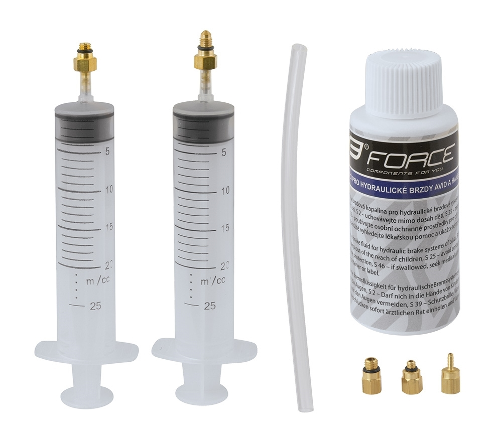 FORCE DISC BRAKE HYDRAULIC BLEED KIT AVID, HAYES.