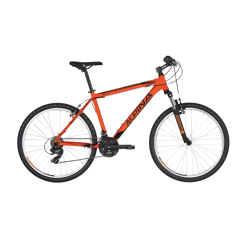 "ALPINA ECO M10 M BOYS MTB BIKE ORANGE (26"")"