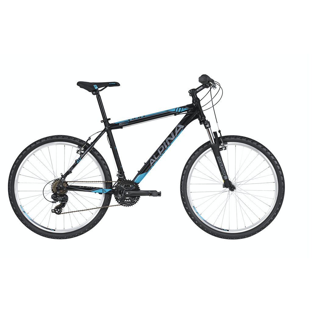 "ALPINA ECO M10 M BOYS MTB BIKE BLACK/BLUE (26"")"
