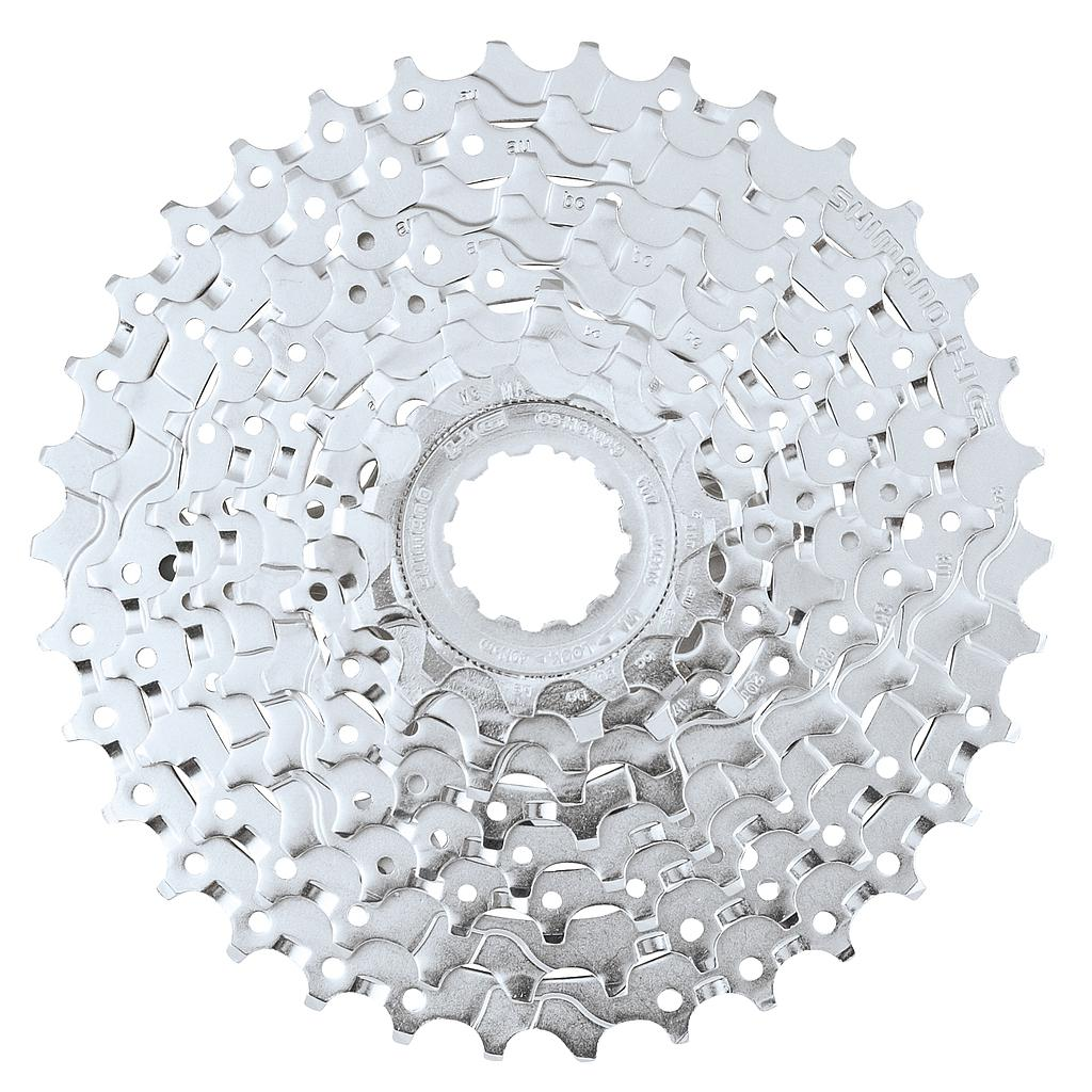 **SHIMANO DEORE CASSETTE 12-36T 9 SPEED